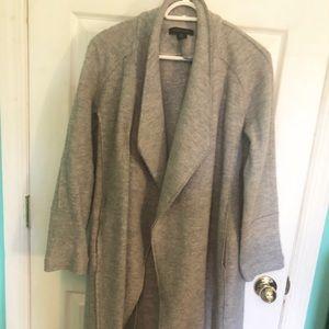 Draped front Pea coat